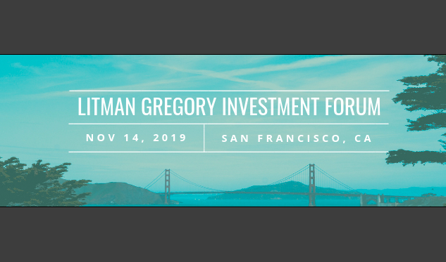 Litman Gregory Conference 2019
